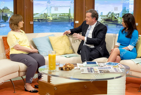 Sharon Shoesmith with Piers Morgan and Susanna Reid