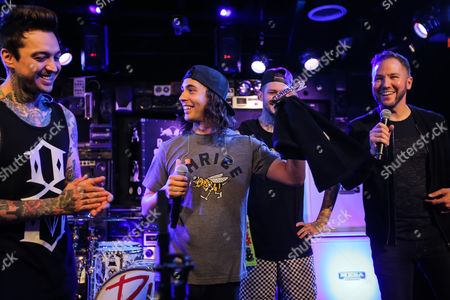 Tony Perry, Vic Fuentes, Mike Fuentes, Stryker