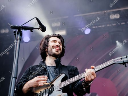 Stock Image of Barry Mckenna of Twin Atlantic