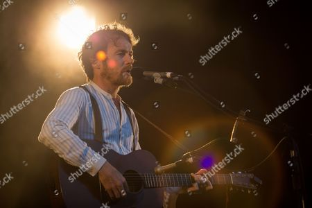 Stock Photo of Irish singer, musician and songwriter Damien Rice performs