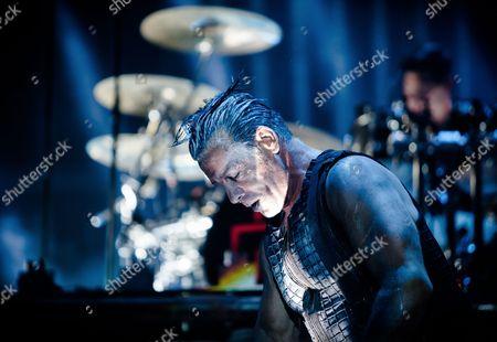 Vocalist Till Lindemann of Rammestein