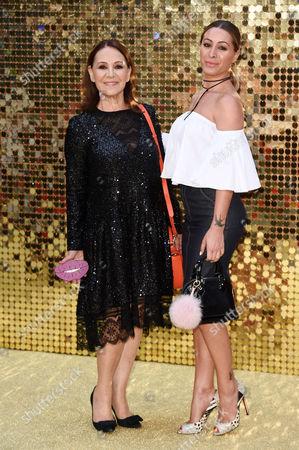 Arlene Phillips and daughter Alana Phillips