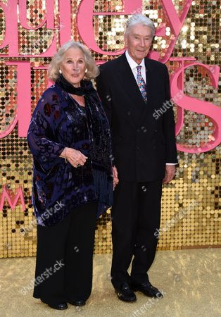 Stock Picture of Wanda Ventham and Timothy Carlton