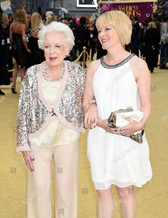 Stock Photo of June Whitfield and daughter Suzy Aitchison