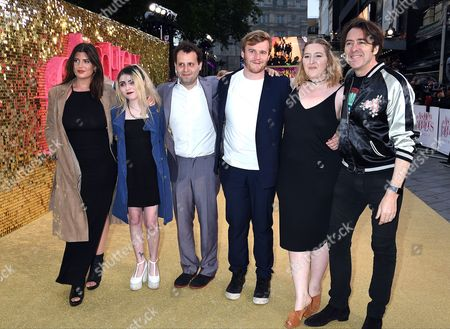 Jonathan Ross with Honey Kinney Ross and guests