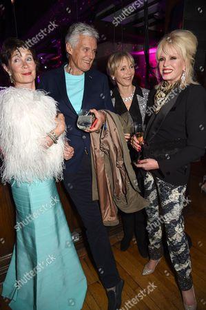 Celia Imrie, Simon Williams, Lucy Fleming and Joanna Lumley