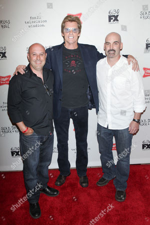 Stock Picture of Jim Serpico, Denis Leary and Tom Sellitti