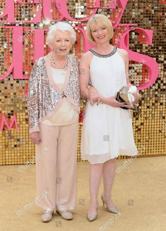 June Whitfield and daughter Suzy Aitchison