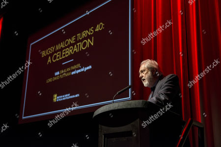 Stock Photo of David Putnam introduces the film