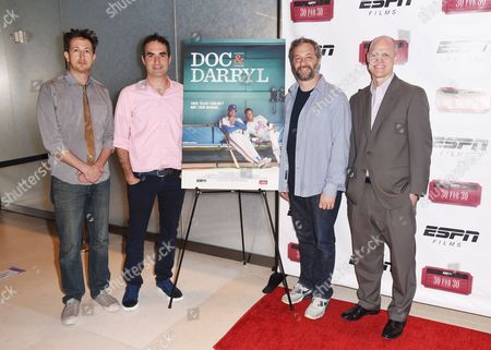 Editorial image of 'Doc and Darryl' film premiere, New York, USA - 29 Jun 2016