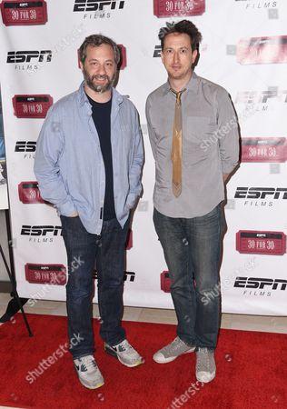 Judd Apatow and Michael Bonfiglio