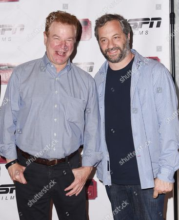 Robert Wuhl and Judd Apatow