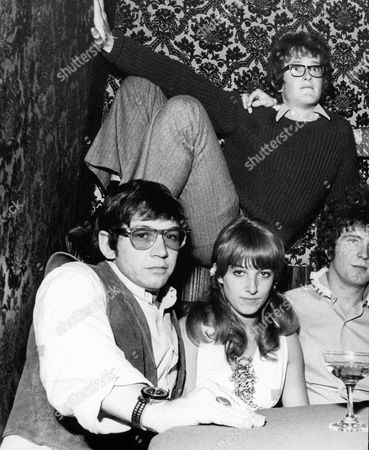 Stock Picture of Members Of The Animals Pop Group At A Party At The Bag O'nails Club London. L-r: Eric Burdon Carol Fielder And Danny Mcculloch. Box 655 114121543 A.jpg.