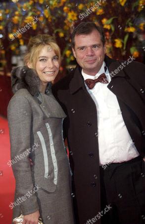 'Snow Cake' film premiere - Tina Bordihn and Dr. Friedbert Pflueger