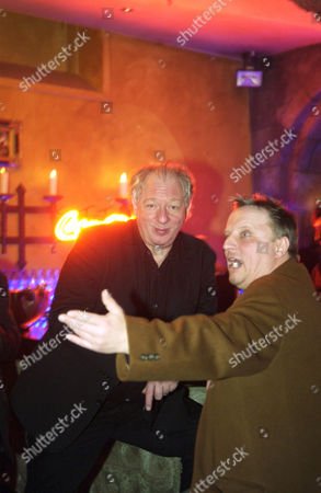 Wolfgang Becker and Axel Prahl at the opening party of the Berlinale Film Festival