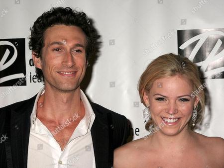 Aaron Lazar and Katie Clarke