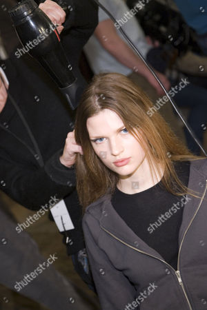 Bette Franke at the Marc Jacobs show