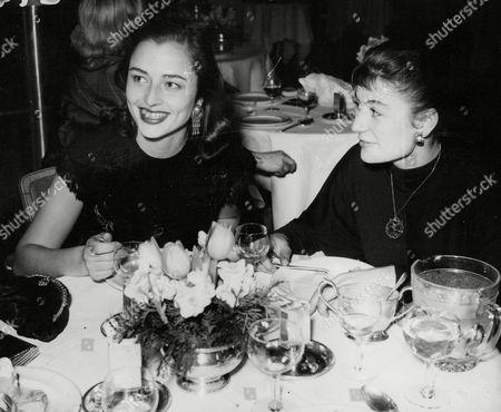 Actress Marina Berti With Anouk At Grosvenor House Dinner. Box 660 61301163 A.jpg.