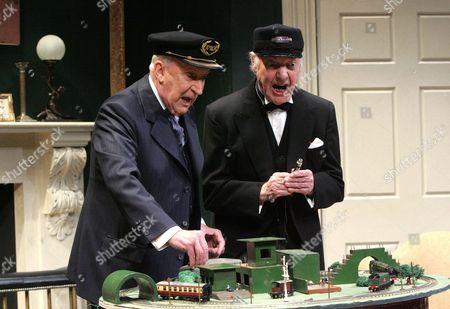Ian Richardson and Harry Towb