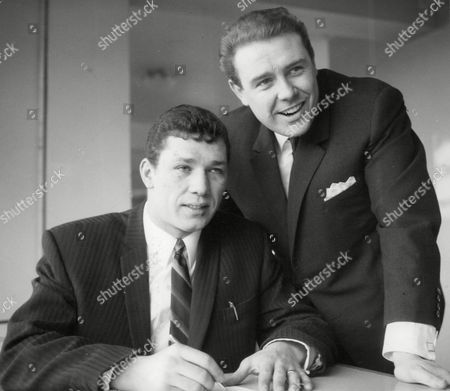 Boxer Tony Moore With Boxing Manager Terry Lawless. Box 663 727011617 A.jpg.