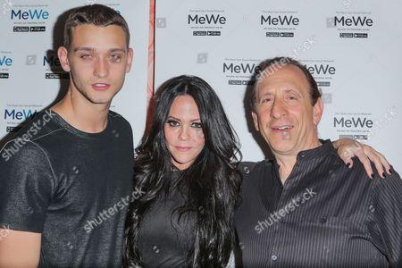 Stock Image of Cody Saintgnue, Allison Melnick, Mark Weinstein