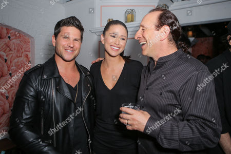Stock Image of Daniel Booko, Nia Sanchez, Mark Weinstein