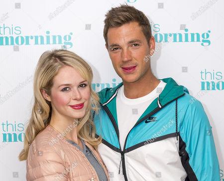 Marcus Willis and his girlfriend Jennifer Bate
