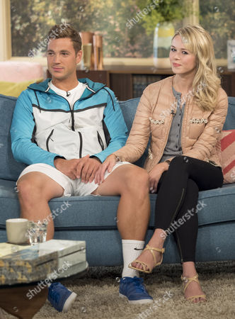 Stock Picture of Marcus Willis and his girlfriend Jennifer Bate
