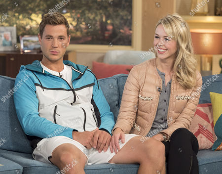 Stock Photo of Marcus Willis and his girlfriend Jennifer Bate