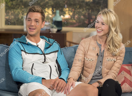 Stock Image of Marcus Willis and his girlfriend Jennifer Bate