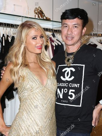 Editorial photo of Paris Hilton 'Gold Rush' fragrance launch, Los Angeles, USA - 29 Jun 2016