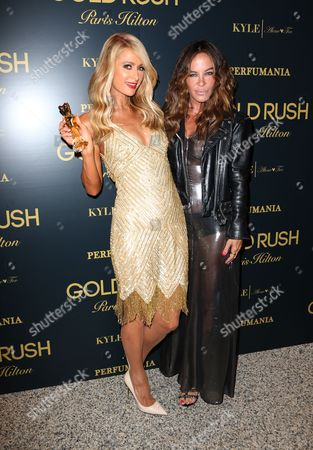 Editorial picture of Paris Hilton 'Gold Rush' fragrance launch, Los Angeles, USA - 29 Jun 2016