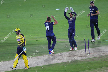 Editorial picture of Hampshire v Essex Eagles, Natwest T20 Blast, Cricket, Ageas Bowl, Southampton, UK - 08 Jul 2016