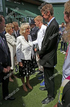Editorial image of Wimbledon Tennis Championships, London, Britain - 30 Jun 2016