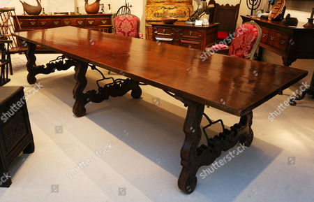 Former table of Orson Welles, sold in the region of £25,000