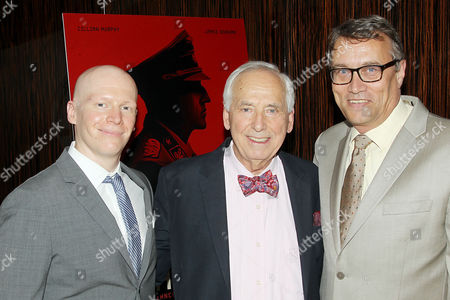 Tyler Dinapoli (President, Marketing, Media and Research at Bleecker Street), Dr. Pavel (Paul) Ort, Martin Dvorak (The Consul General of the Czech Republic)