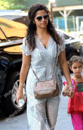 Stock Image of Camila Alves, Vida Alves McConaughey