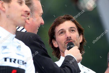 Swiss Champion Fabien Cancellara