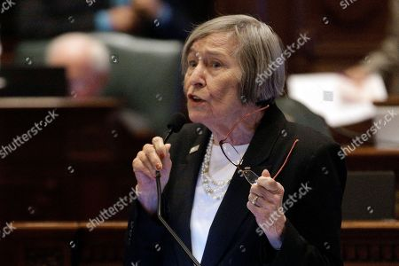 Stock Picture of Illinois Rep. Barbara Flynn Currie, D-Chicago, speaks to lawmakers while on the House floor during session at the Illinois State Capitol If Illinois enters another year without a budget by Thursday, cash will stop flowing to local 911 centers, preventative health screenings and tuition grants for low-income college students.