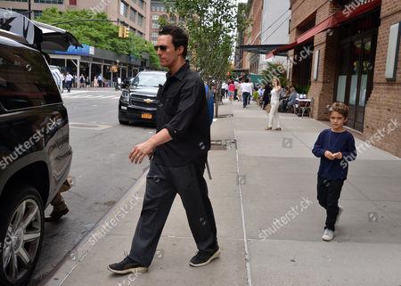Stock Photo of Matthew McConaughey, Levi Alves McConaughey