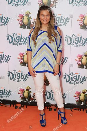 Editorial picture of 'Digby Dragon World' film premiere, London, UK - 02 Jul 2016