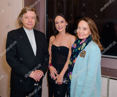 Mike and Mary Von Joel (State Mag) and Laurence Bet-Mansour (C)