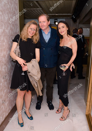 Sam Conti WWD and Richard Cook (Editorial Director At Wallpaper) and Laurence Bet-Mansour