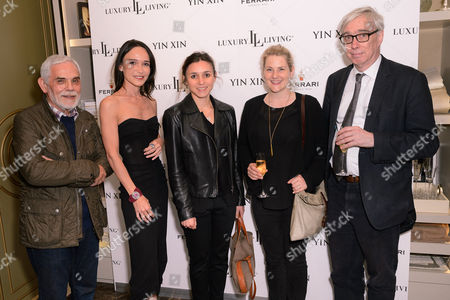Tony Pontone, Laurence Bet-Mansour, Curator Ana Debenedetti, Exhibition Manager Sarah Quantrill and Senior Curator Mark Evans