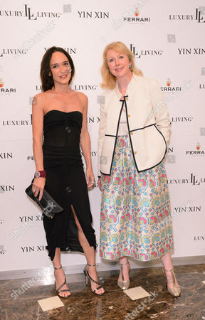 Laurence Bet-Mansour and Claire Godden (The World of Interiors, Magazine Publisher)