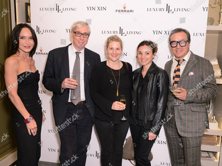 Laurence Bet-Mansour, Mark Evans, Sarah Quantrill,  Ana Debenedetti and Yin Xin