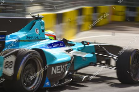 Oliver Turvey of Great Britain and Nextev TCR during Round 9 of Formula E, Battersea Park, London