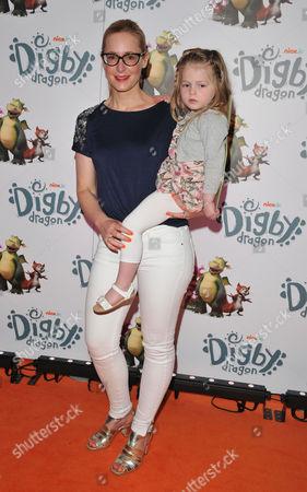 Nicky Hambleton-Jones & her daughter