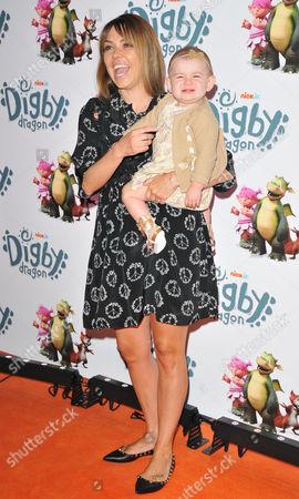 Stock Photo of Adele Silva & daughter Sienna Farber