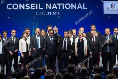 Editorial image of National Council of Les Republicains, Paris, France - 02 Jul 2016
